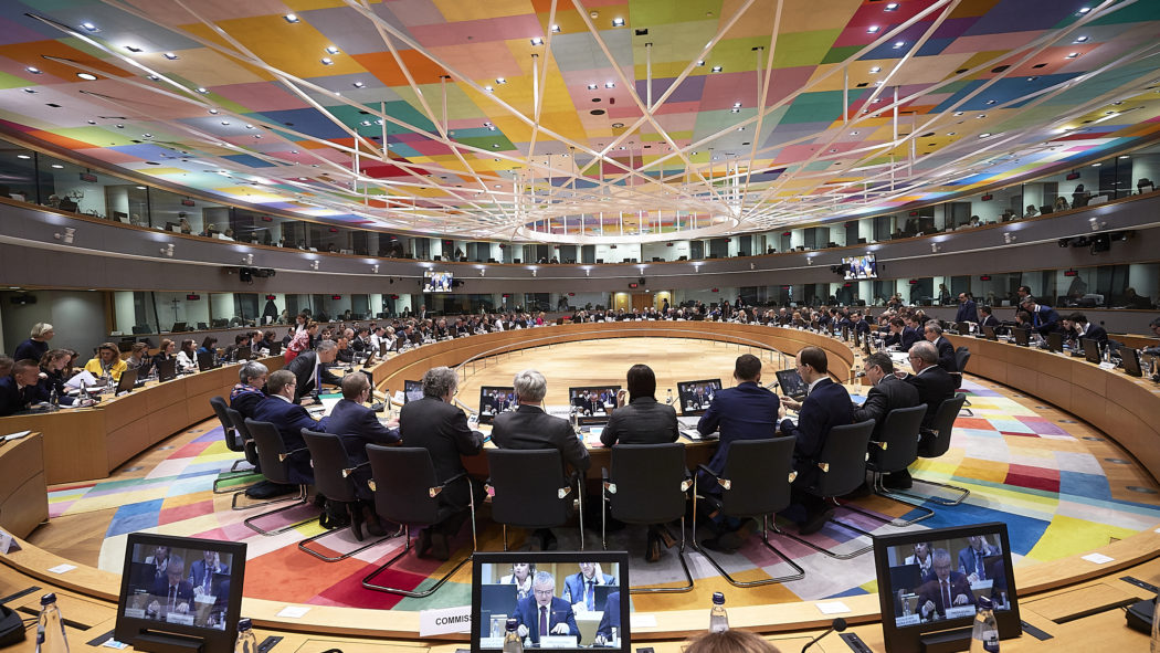 General view of the roundtable, Council of the EU, Brussels