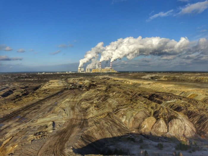 The Bełchatów Lignite Mine in Poland